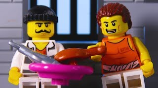 LEGO City Prison Break 2 STOP MOTION LEGO City Police: Catch The Crooks | LEGO City | Billy Bricks