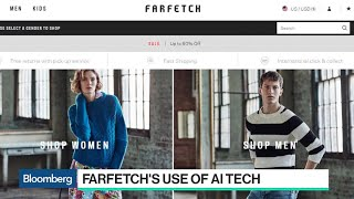 Farfetch CEO Neves on AI, Competition and Brexit