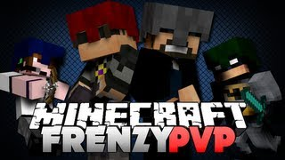 Minecraft FRENZY PVP - GET OFF MY PLATFORM!