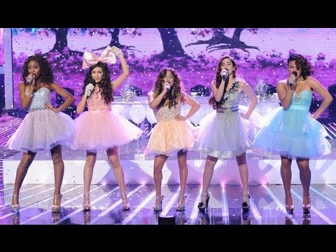 """Fifth Harmony """"Anything Could Happen"""" - Live Week 7: Semifinal - The X Factor USA 2012"""