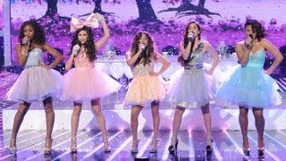 "Fifth Harmony ""Anything Could Happen"" - Live Week 7: Semifinal - The X Factor USA 2012"