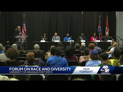 Forum race and diversity at University of Arkansas Fort Smith