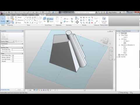 Revit 2-1 Mass Modelling Intro