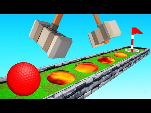 The MOST DANGEROUS SKILL COURSE In Golf It!