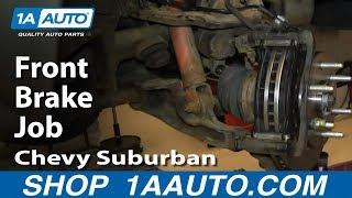 How To Do A Front Brake Job 2000-06 Chevy Suburban GMC Yukon 1500