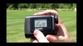 Suaoki 660 Yards Digital Laser Rangefinder Scope with LCD Screen