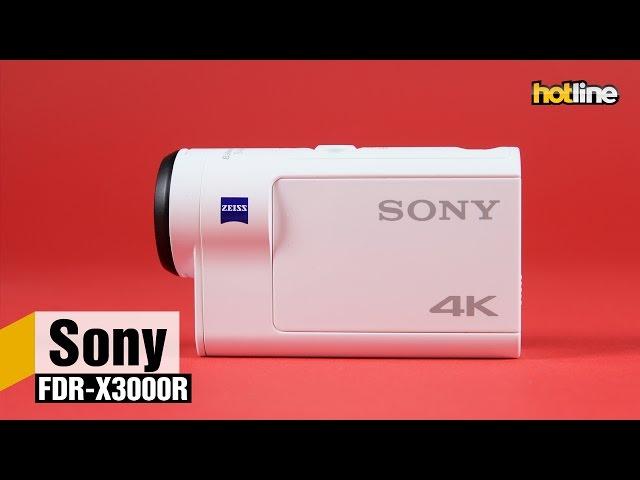 Sony FDR-X3000R — экшн-камера на все случаи жизни