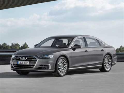 Audi A8 2018 giá bán từ 90.600 euro tại thị trường Đức.