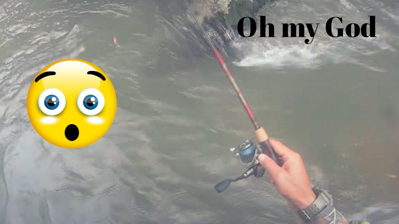 çılgın akan bulanık suda alabalık avı(delilik bedava)