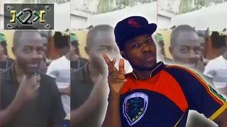 JAMAICAN DRINKS BOTTLE OF HENESSY NON STOP - @Kevin2wokrayzee