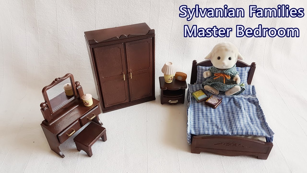 sylvanian families master bedroom sylvanian families master bedroom unboxing review calico 17450