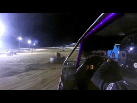 Kyle Blair Clay County Speedway BMod Feature Start 5-18-13