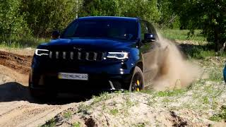 Test Jeep Grand cherokee trackhawk 2018 6.2L 707 HP