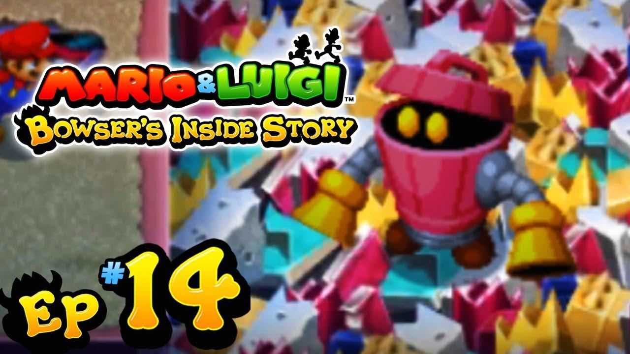 Mario Luigi Bowser S Inside Story 3ds Part 14 Peach S
