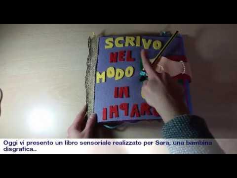 Quiet book realizzato per una bambina disgrafica