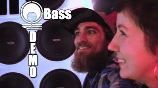 Getting BASSED Up w/ EXO Inside The RE Audio Demo Van | Extreme BASS Sound System Installation