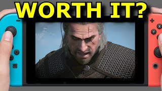 Witcher 3 on Nintendo Switch Review! WORTH the Price?