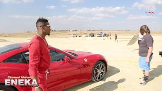 Diamond Platnumz - Eneka (Behind The Scene part 1)