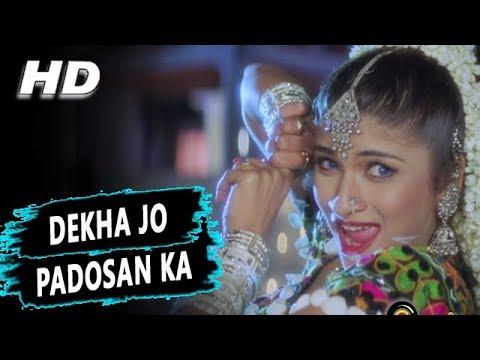 Dekha Jo Padosan Ka | Sapna Awasthi | Maa Kasam 1999 HD Songs | Pinky Chinoy, Gulshan Grover
