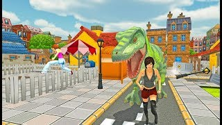 ► Dinosaur Rampage City Battle (MAS 3D STUDIO) Android Gameplay