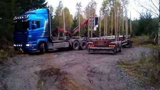 Scania R620 Timmerbil