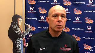 Herb Sendek previews Santa Clara's season