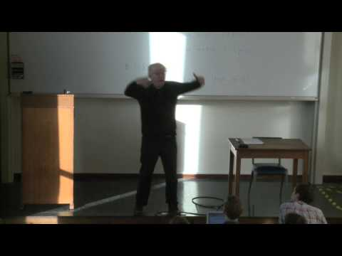 Marxism lecture by Prof. Raymond Geuss 2/8