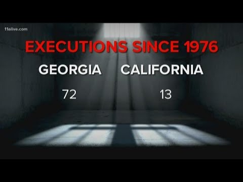 California takes steps to end death penalty | How this compares to Georgia's laws