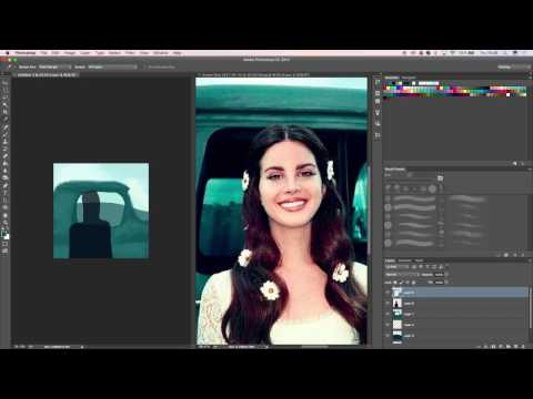 Painting Lana Del Rey, Lust For Life