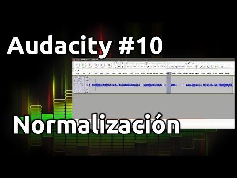 Audacity #10: Normalización de Audio