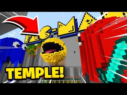 Minecraft : We Found The TEMPLE OF PACMAN! (Ps3/Xbox360/PS4/XboxOne/PE/MCPE)
