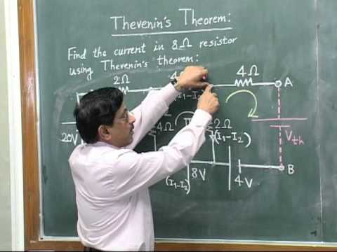 Thevenin's Theorem - by Prof. Dr. C. B. Bangal