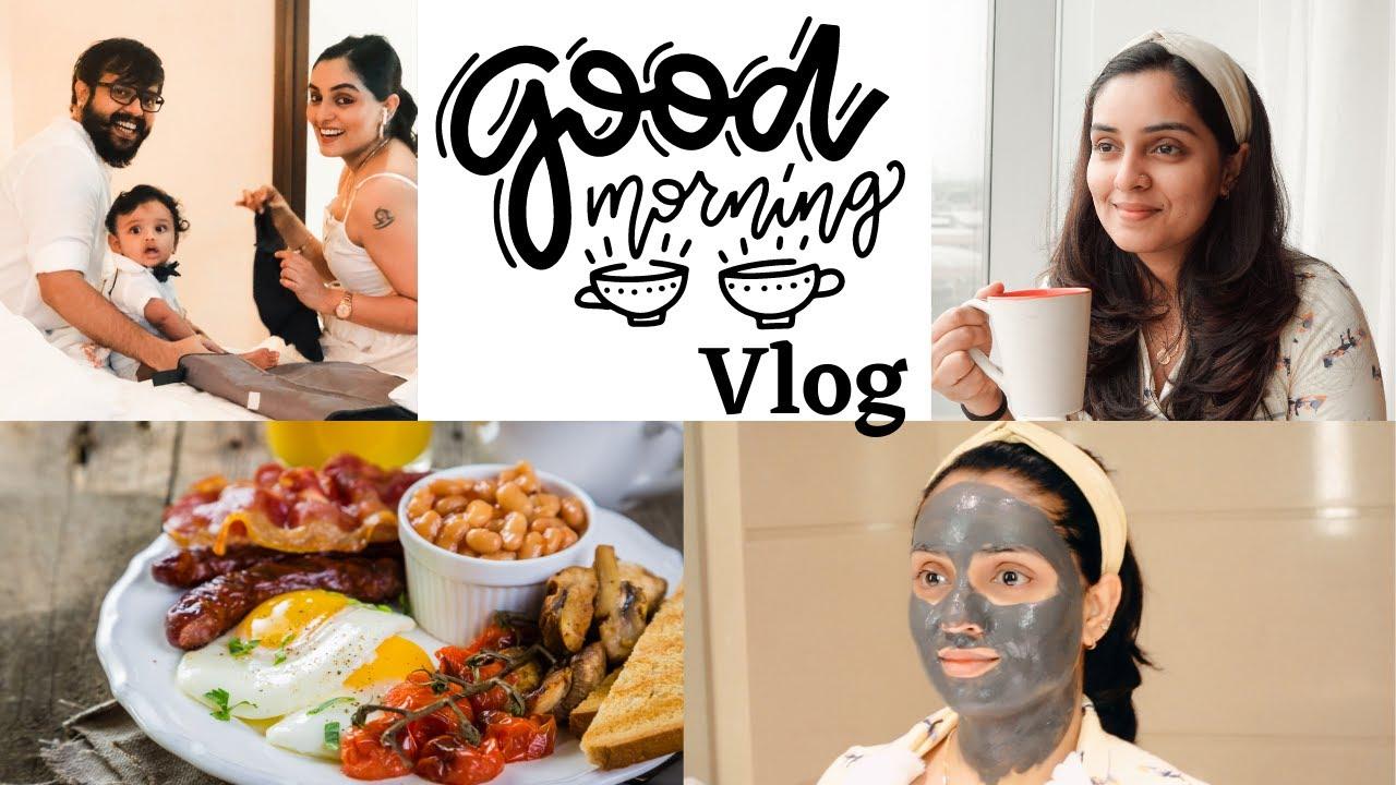 Morning Vlog ; Breakfast + Skincare | Nimmy Arungopan | Arungopan | AaryanGopan