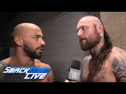 Ricochet & Aleister Black are ready for WWE Fastlane: SmackDown Exclusive, March 5, 2019