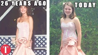 10 Teenagers Who Wore Their Moms' Prom Dresses Decades Later