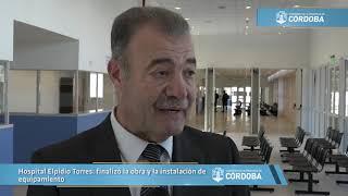 Hospital Elpidio Torres: finalizó la obra y la instalación de equipamiento