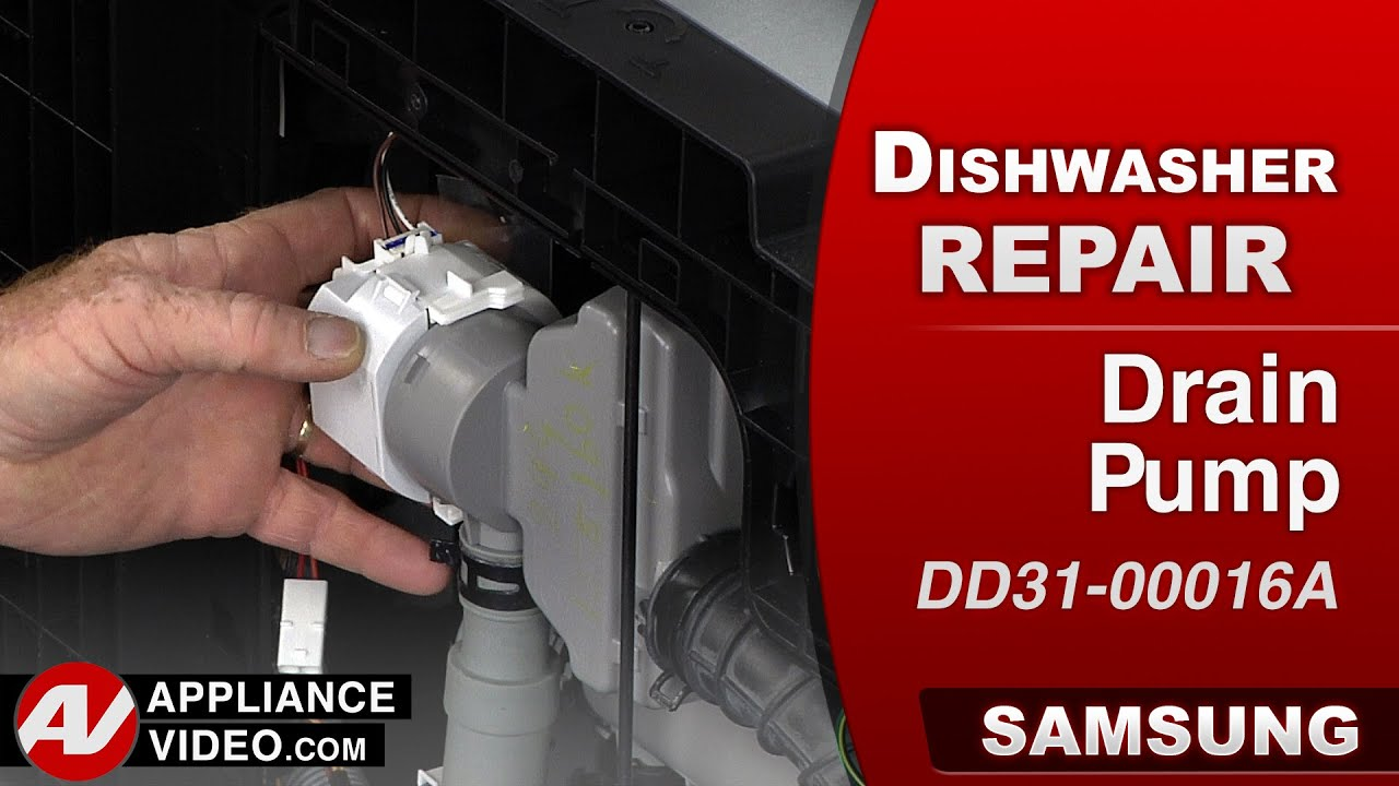Samsung Dishwasher Drain Pump Repair Amp Diagnostic Youtube