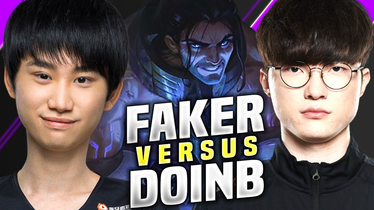T1 FAKER vs FPX DOINB! - T1 Faker Plays Sylas vs DoinB Pantheon Mid! | KR SoloQ Patch 10.16