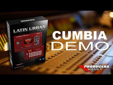 CUMBIA DEMO Latin Urban VSTi usando sonidos samples reales metales trompetas trombones percusion