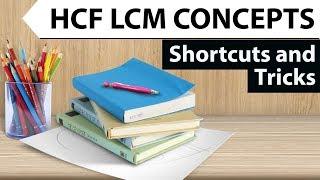 HCF LCM Tricks Set 1 - Concepts & Shortcuts for IBPS/SBI PO/Clerk/CSAT/KVS/RBI/Railways/Bank PO/SI