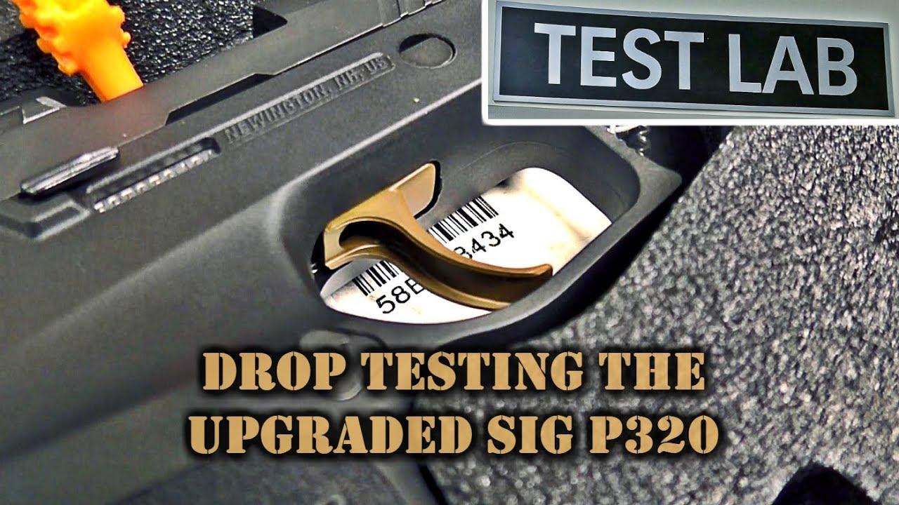 Drop Testing Upgraded SIG P320