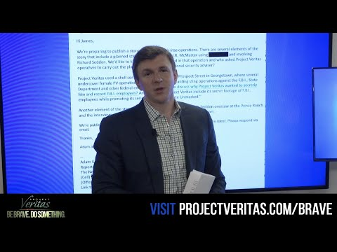 James O'Keefe responds to Adam Goldman's last minute request for comment on upcoming NYT h