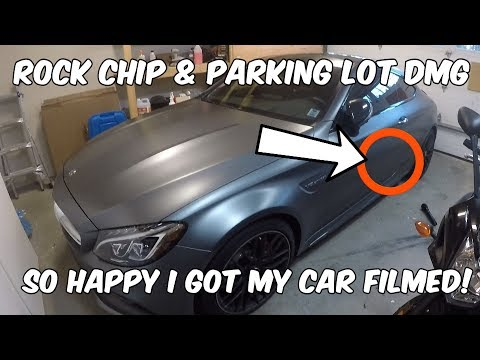Rock Chip & Parking Lot Damage Saved By Xpel  Rubicon Update