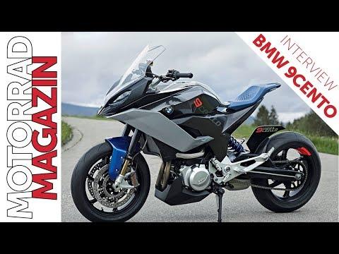 Bmw 9cento Sporttourer Motorradneuheit 2019 Interview Mit