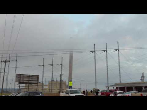 Georgia Power Plant Harllee Branch demolition