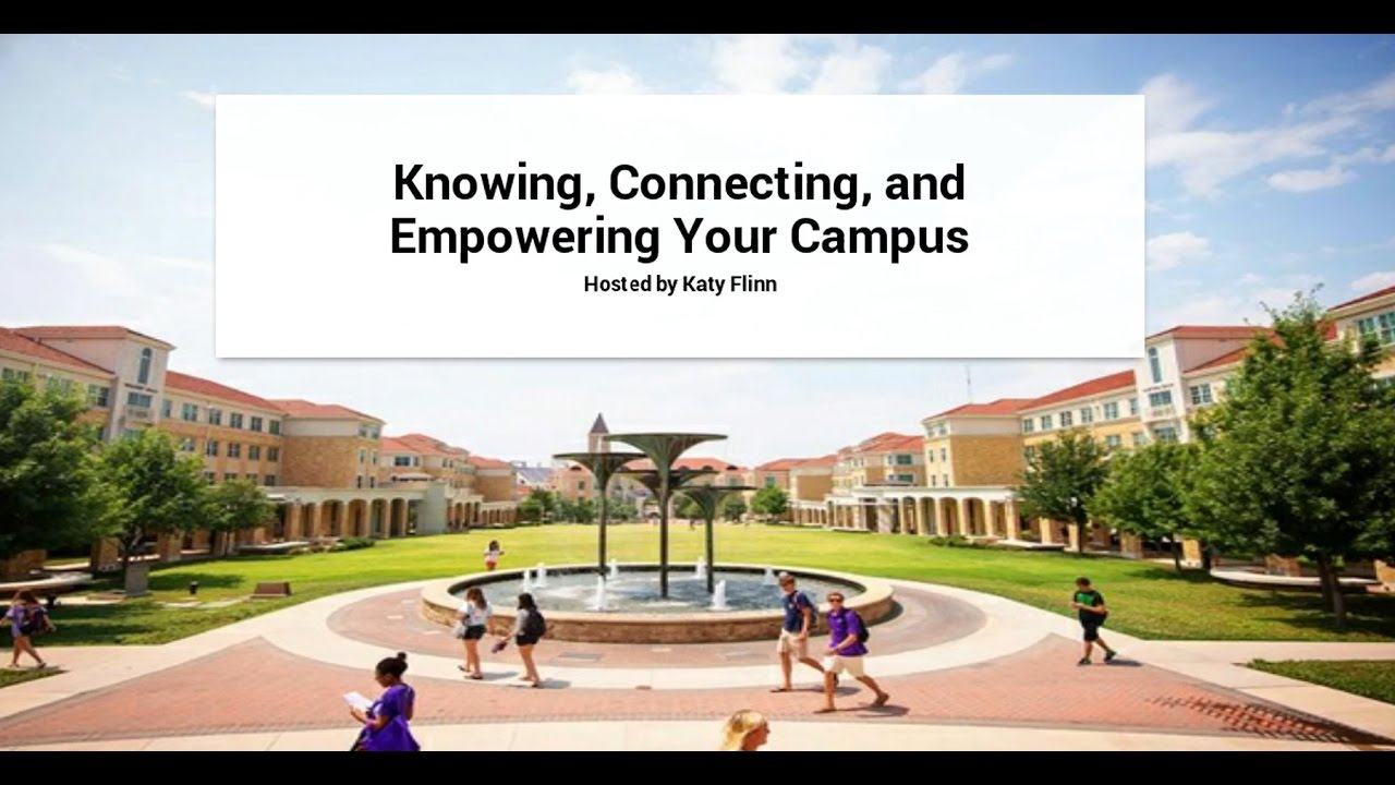 Knowing your campus