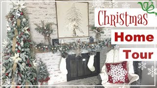Christmas House Tour 2018   Farmhouse Christmas Decorate With Me   Momma From Scratch