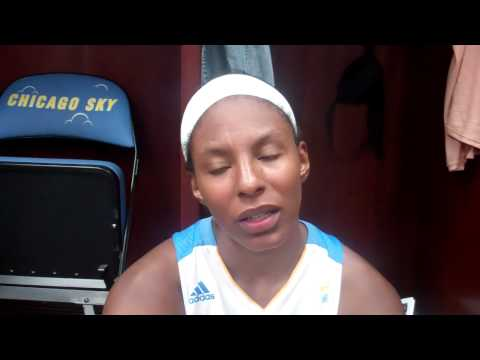 Chicago Sky's Shay Murphy postgame 7.13.12