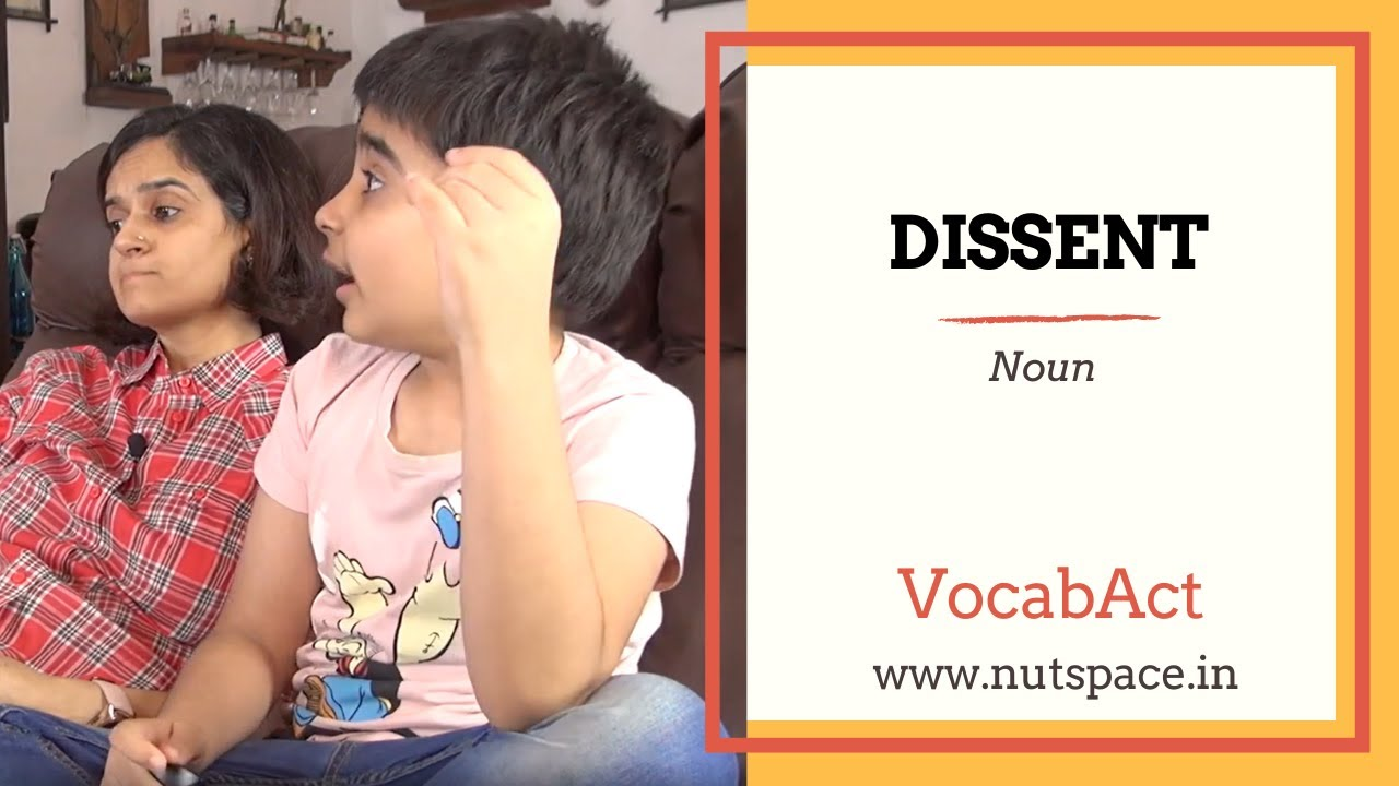 Download Dissent meaning | VocabAct | English Vocabulary Builder | NutSpace