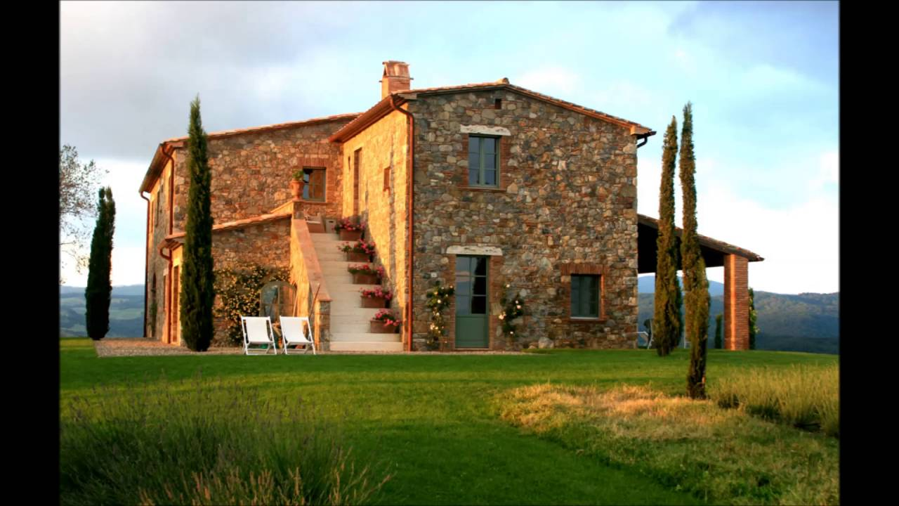 Nice italian home design youtube for Italian farmhouse plans